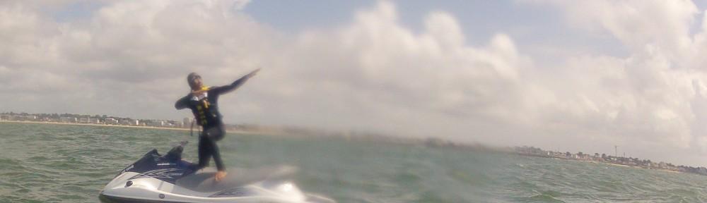 Jet Ski à la Baule, dans la baie du Pouliguen