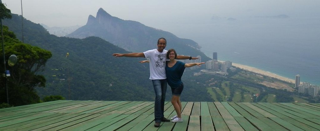 Rio de Janeiro, the first stage of the Tour of the World!
