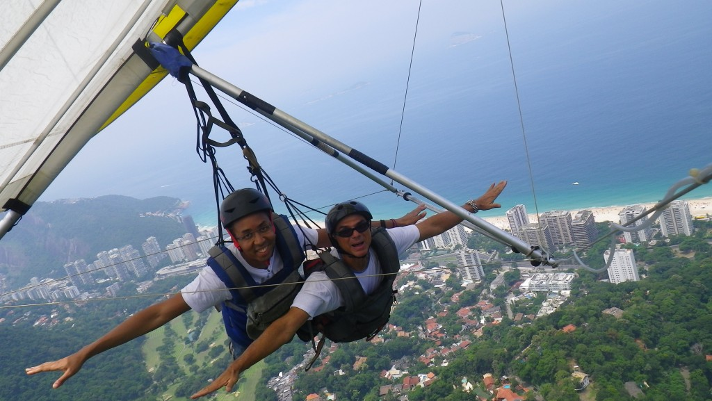 Gliding over Rio: the best way to see the city!