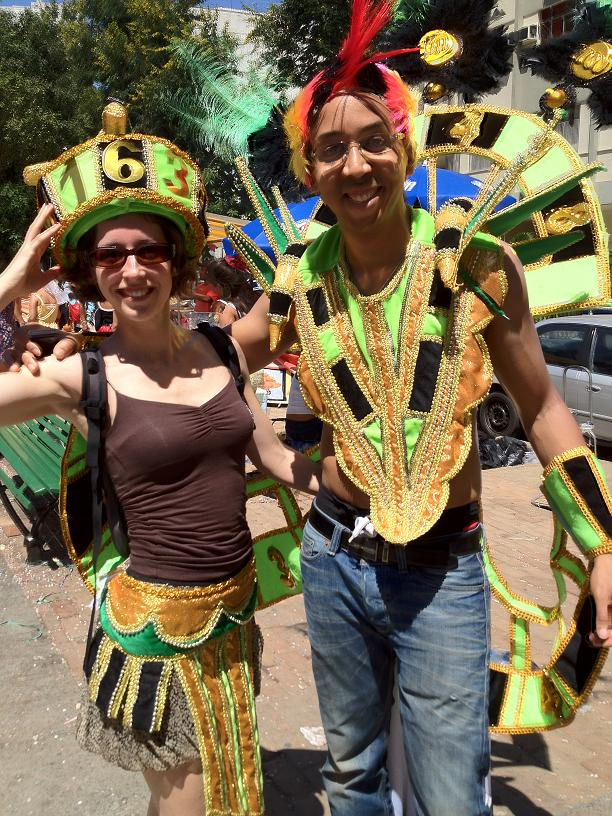 Our carnival costume (come directly from Sambodrome!)