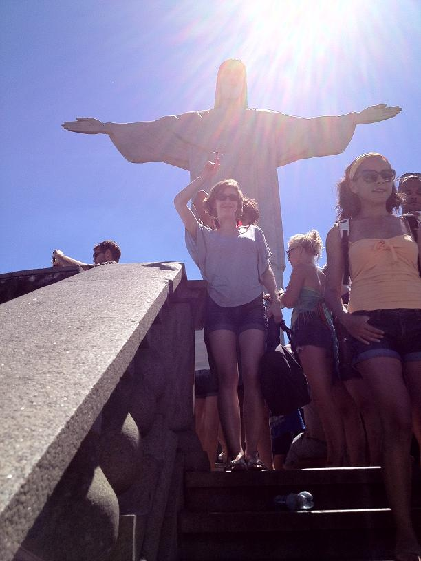 Corcovado Christ the Redeemer in Rio