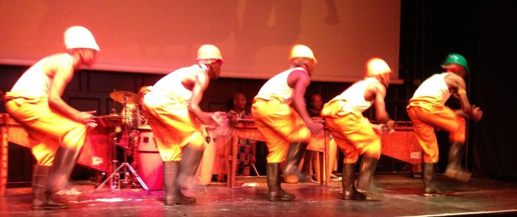 Danseurs de Gumboots