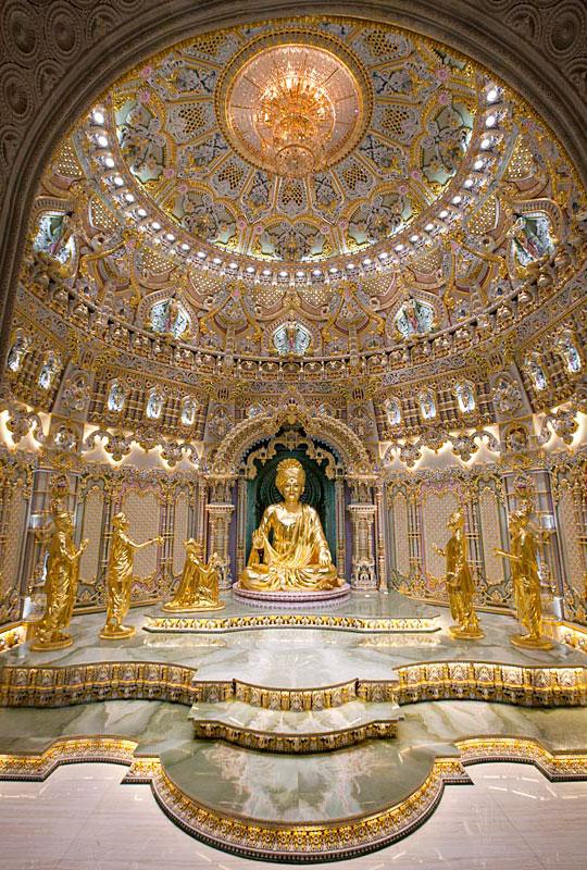 A l'intérieur du temple - crédit photo