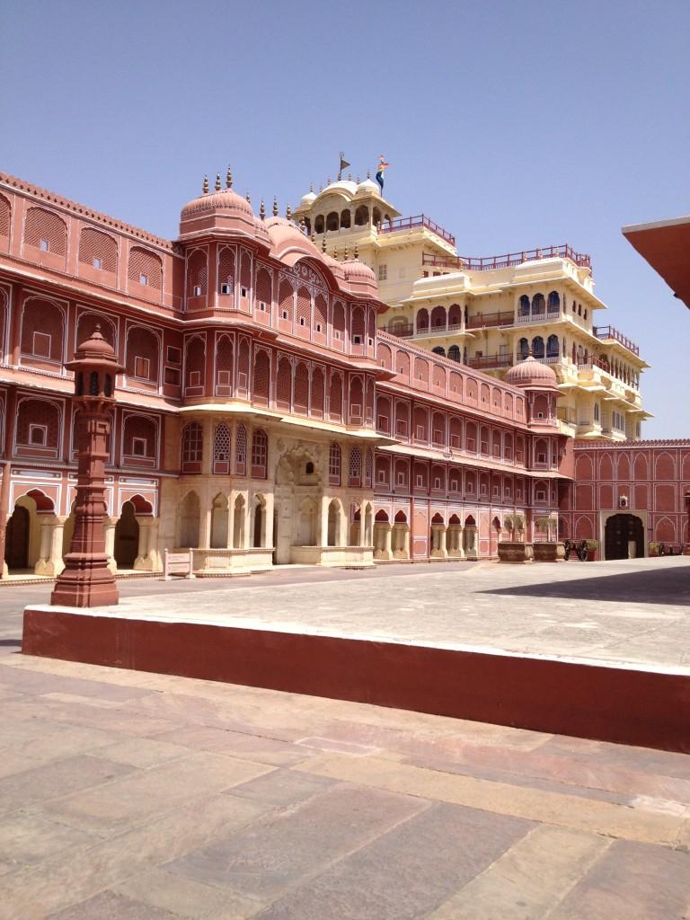 Palais de l'actuel Maharaja