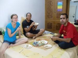 Chez Anupam - Chapatis pour le dîner