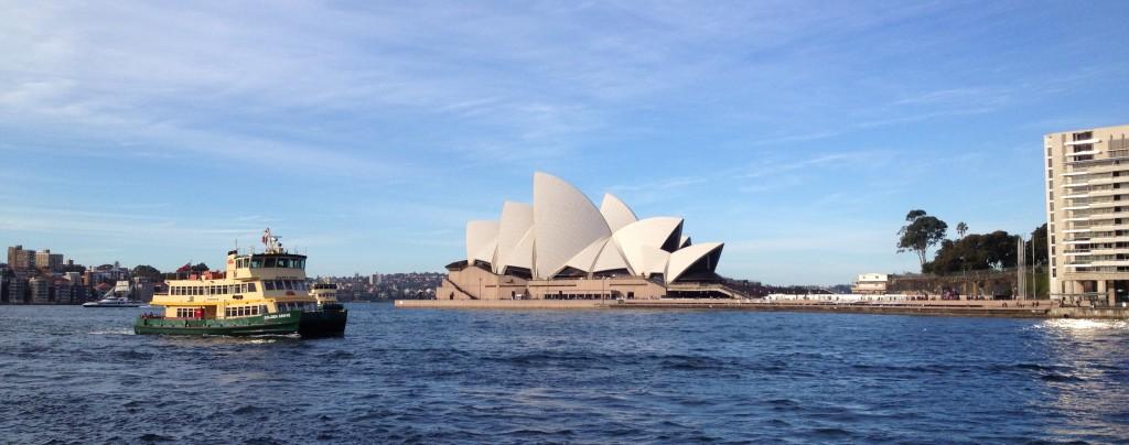 Le fameux opéra de Sydney !